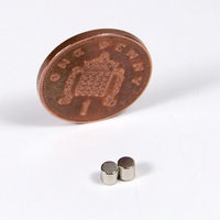 2x Strong Magnets - 3mm dia x 3mm thick