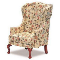 12th Scale Chippendale Wing Chair Kit