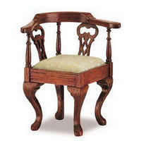 12th Scale Chippendale Corner Chair Furniture Kit