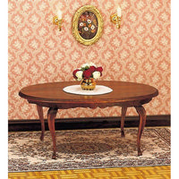 12th Scale Queen Anne Dining Table Furniture Kit