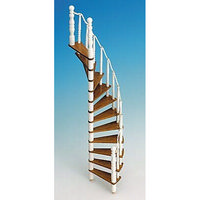 Spiral Staircase Kit (Wood) - 1:12 scale
