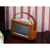 12th Scale Tan Radio