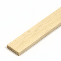 Obeche Strip 12.0mm x 3.0mm x 450mm