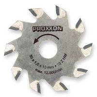 Proxxon TCT Carbide Tipped Sawblade 10T 50MM 28016