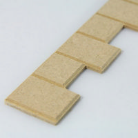 Dolls House Quoin Stone Strip - MDF