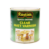 Rustins Clear Matt Varnish 250ml