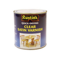 Rustins Clear Satin Varnish 250ml