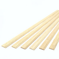 "Skirting Board Moulding 1:12 Scale 6x18"" Lengths"