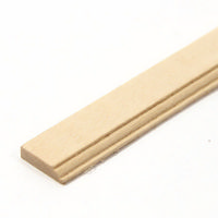 "Skirting Board Moulding 1:12 Scale 18"" Length"