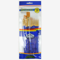 R&L Gold Takon Artist Brush Set x 10