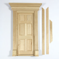 Exterior Door  for 1:12 Scale Dolls House
