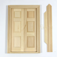 Double Opening Wooden Doors