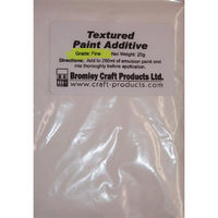 Textured Paint Additive 25g Bag