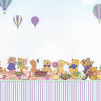 Teddy Bear's Picnic Wallpaper
