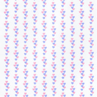 Hearts Pink & Lilac Wallpaper