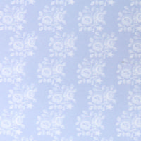 Blenheim Pastel Blue Wallpaper - 1:24 Scale
