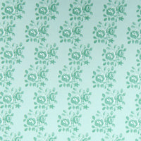 Blenheim Pastel Green on Green Wallpaper - 1:24 Scale