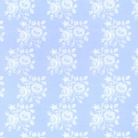 Blenheim Pastel Blue Dolls House Wallpaper