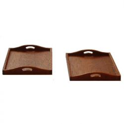 Mahogany Trays Kit