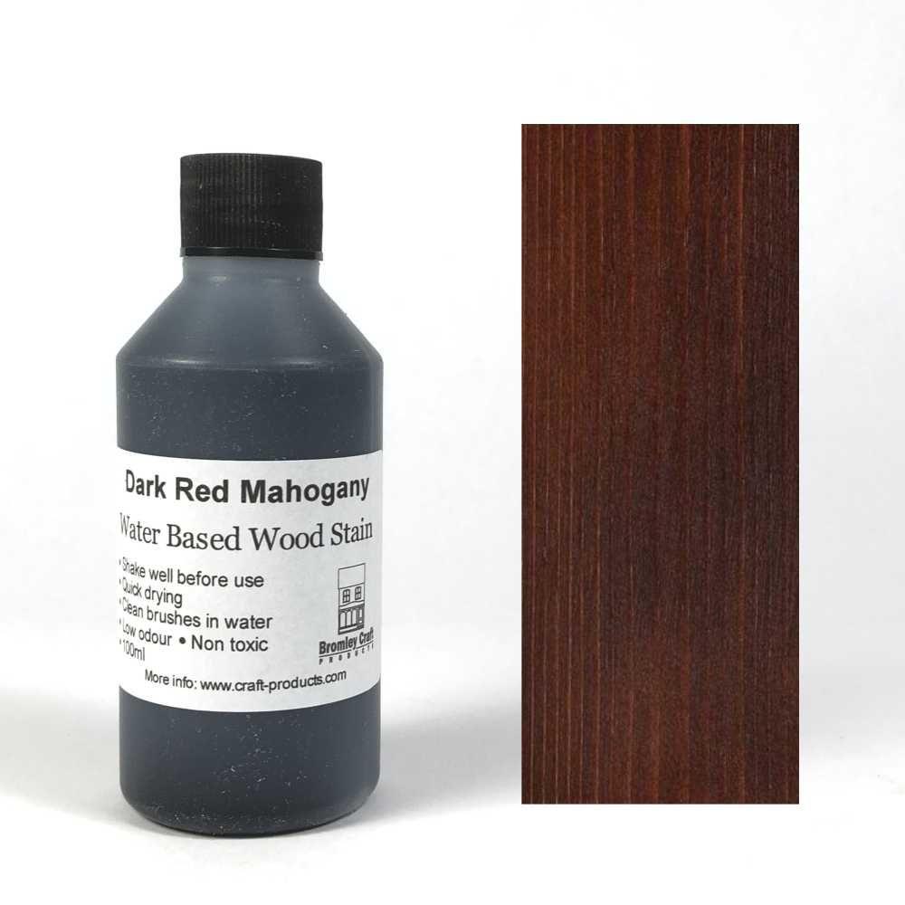 Wood Stain - Dark Red Mahogany - 100ml