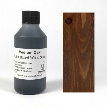 Wood Stain - Medium Oak - 100ml