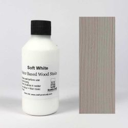 Wood Stain - Soft White - 100ml