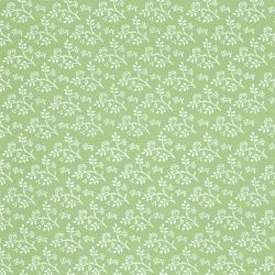Julia White on Green Dolls House Wallpaper