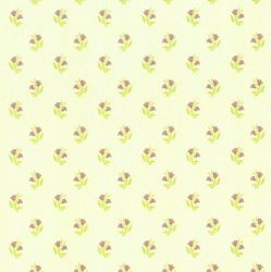Rosebud Pink Dolls House Wallpaper
