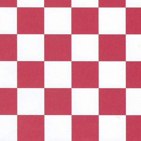Red & White Tile Wallpaper