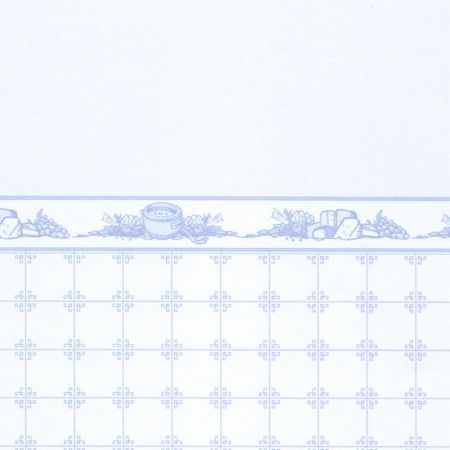 Mrs Beeton Wallpaper - Blue