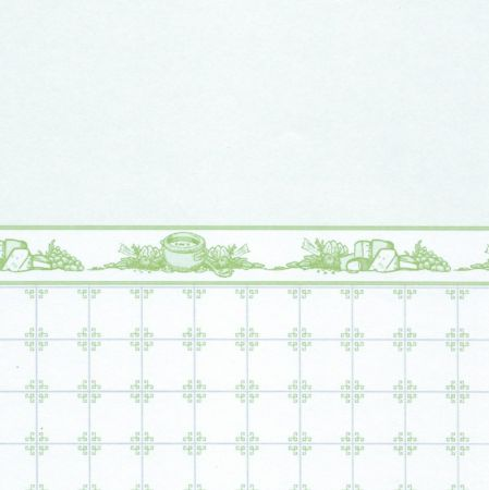 Mrs Beeton Wallpaper - Green
