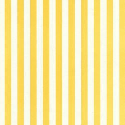 Wide Stripe Dolls House Wallpaper - Yellow