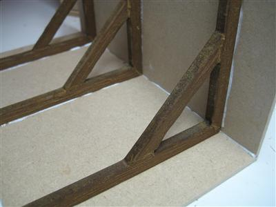 Dolls House Roof Timbers