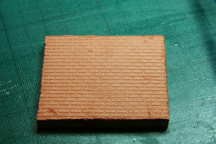 1:48 scale brick impression